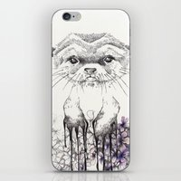 otter iPhone & iPod Skins featuring Otter by RiRi.in.Berlin