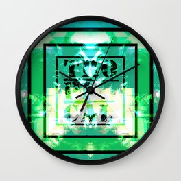 Tropical Tribe Wall Clock