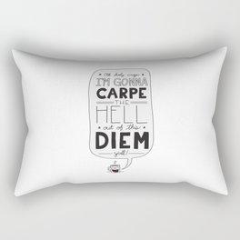 Coffee Diem Rectangular Pillow