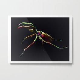 Grant's stag beetle Metal Print