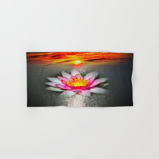 Wellness Water Lily 5 Hand & Bath Towel