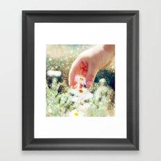 In Wonderland. Framed Art Print