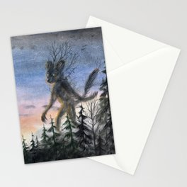 Forest guardian Stationery Cards