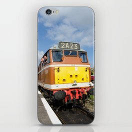 Diesel loco 5830 portrait iPhone Skin