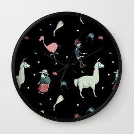 Altiplano zombie Wall Clock
