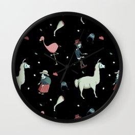 Altiplano zombie Wall Clock
