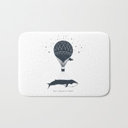 Have A Whale Of A Week Bath Mat