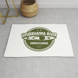 Susquehanna River, Pennsylvania Rug