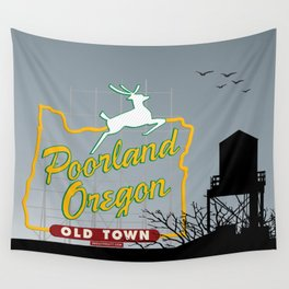 Poorland [Portrait] Wall Tapestry