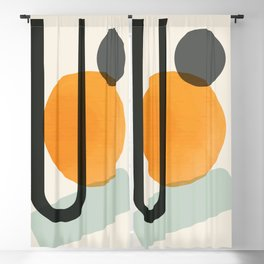 Oranges Blackout Curtain