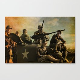 WWII Days Canvas Print