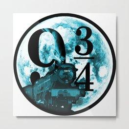 9 34 Express Metal Print