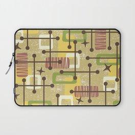 Mid Century Modern Abstract Pattern 834 Laptop Sleeve