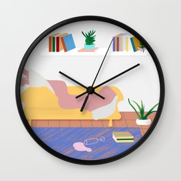 You have 12 events scheduled for today Wall Clock