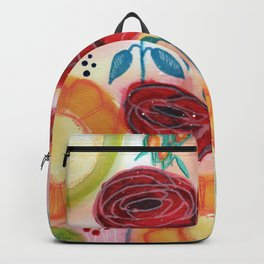 Roses and Daisies Backpack