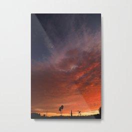 NOHO Sunset Glory Metal Print