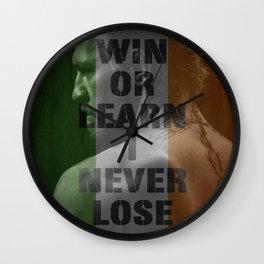 The Irish One Wall Clock