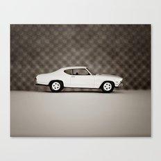White Chevelle Canvas Print