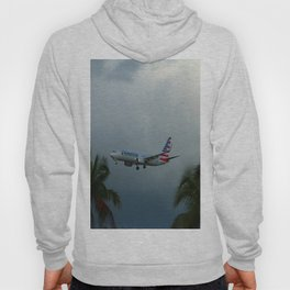 Prearing For Landing On Miami Airport Hoody
