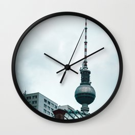 Berlin Cityscape Wall Clock