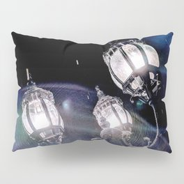 Frosted Lanterns Pillow Sham