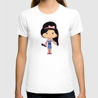 amy hamilton T-shirts featuring Amy by Sombras Blancas Art & Design