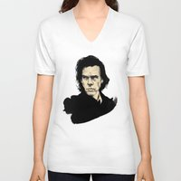 nick cave V-neck T-shirts featuring Nick Cave  by Philipp Banken
