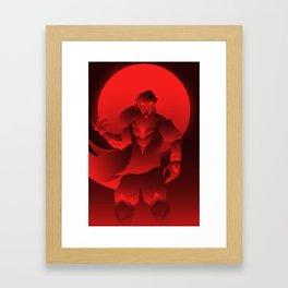 Night of the Vampire Framed Art Print