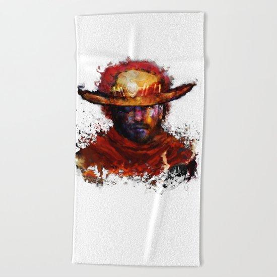 Big Boss Beach Towel
