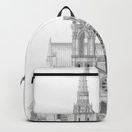 Cathedrale De Chartres Chartres Cathedral Backpack