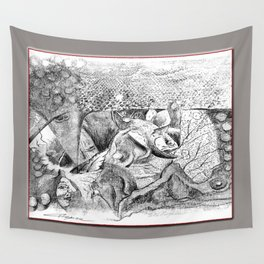 Snake Tippy Wall Tapestry