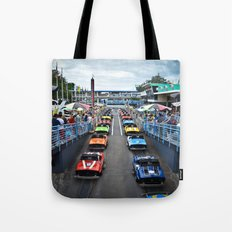 Tomorrowland Speedway Tote Bag