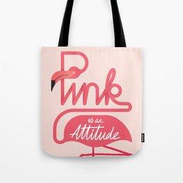 Flamingo - pink attitude Tote Bag