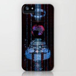 Virtual Data Earth iPhone Case