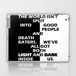 Good People and Death Eaters Laptop & iPad Skin