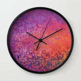 Chipping Sunset Wall Clock