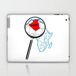 Algeria Magnifying Glass Laptop & iPad Skin