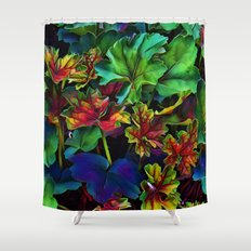 Colorful Color Shower Curtain