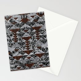 Wood Galaxy Stationery Cards