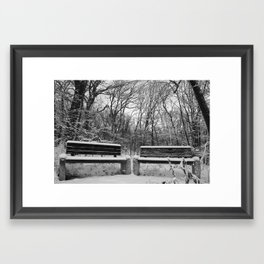 Room, with a view Framed Art Print