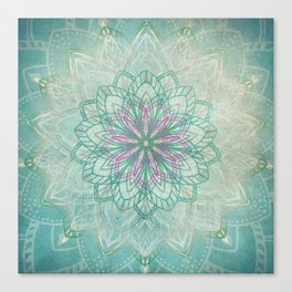 Mermaid Mandala Canvas Print