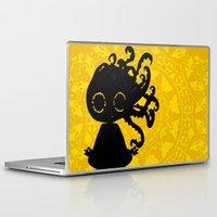yoga Laptop & iPad Skins featuring Yoga by BLOOP