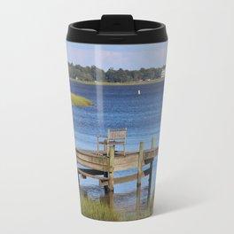 Beauty At The Dock Travel Mug