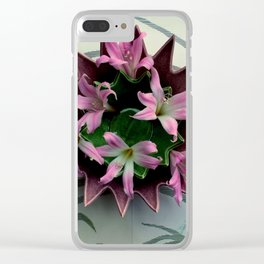 Point A To Point C Clear iPhone Case
