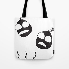 Head Bomb Tote Bag