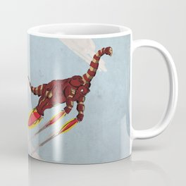 Iron Brontosaurus - Superhero Dinosaurs Series Coffee Mug