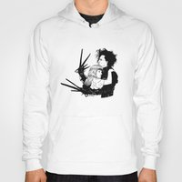 edward scissorhands Hoodies featuring Edward Scissorhands by Gregory Casares