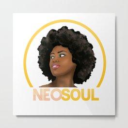 Neo Soul Metal Print