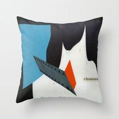 perseverare diabolicum Throw Pillow