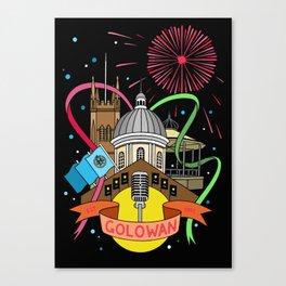Golowan Festival Canvas Print